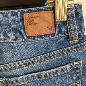 American Eagle Outfitters Shorts - American Eagle Glitter Star Cutoff Jean Shorts